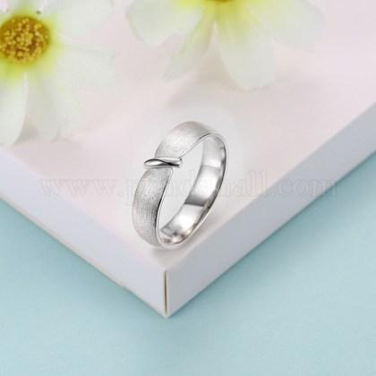 Anillos de dedo de moda de plata esterlinaRJEW-BB29188-A-9-1