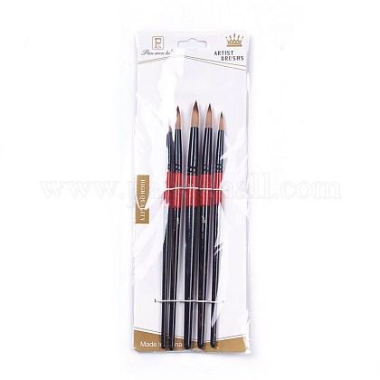 Pluma de nylon del cepillo de pintura de aceite del peloAJEW-L072-50B-1