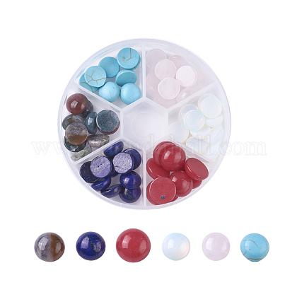 Кабошоны из натурального / синтетического смешанного драгоценного камняG-JP0001-16-1