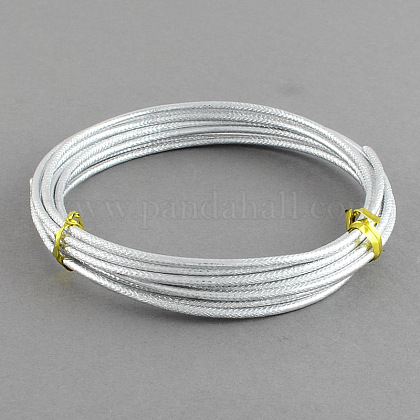 Textured Aluminum Craft Wire AW-R004-2m-01-1