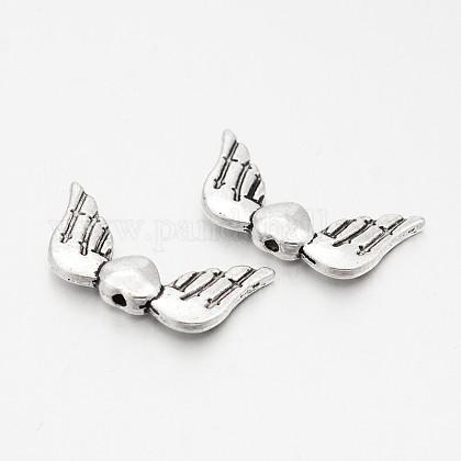 Abalorios de aleación de estilo tibetanoX-TIBE-O006-94-1