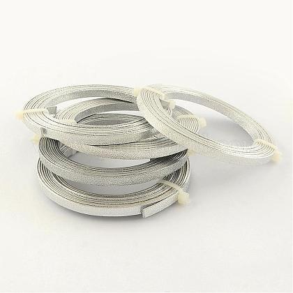 テクスチャード加工されたアルミニウムワイヤーAW-R003-2m-01-1