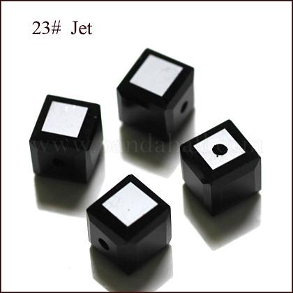 Imitation Austrian Crystal BeadsSWAR-F074-6x6mm-23-1