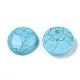Cabuchones de turquesa sintéticaTURQ-S291-03I-01-1