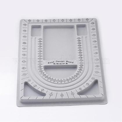 Пластиковые бисера доски дизайнаTOOL-H003-1-1