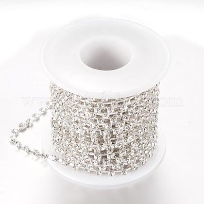 Cadenas de strass Diamante de imitación de bronceCHC-T002-SS16-01S-1