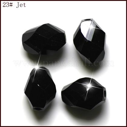 Imitation Austrian Crystal BeadsSWAR-F077-9x6mm-23-1