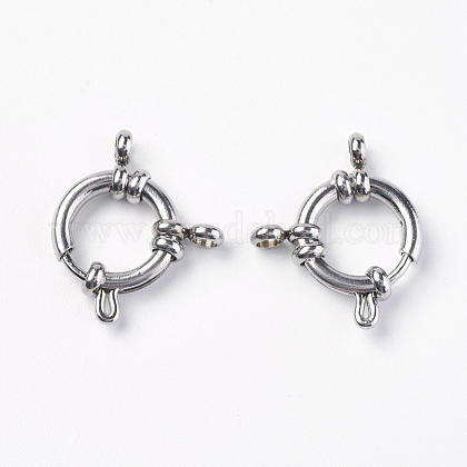304 пружинное кольцо с гладкой поверхностью из нержавеющей сталиSTAS-O114-003D-P-1