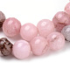 Natural Cherry Blossom Jasper Beads Strands X-G-Q462-63-6mm-2