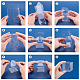Transparent Plastic PVC Box Gift PackagingCON-WH0052-6x6cm-5