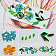 Rectangle 36 Colors Quilling Paper Strips Sets DIY-PH0008-03-7