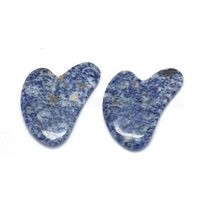 Natural Blue Spot Jasper Gua Sha BoardsG-O175-01-1