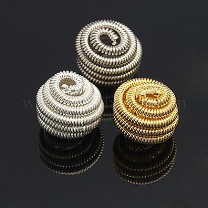 Perles de printemps en laitonKK-C3040-M-1