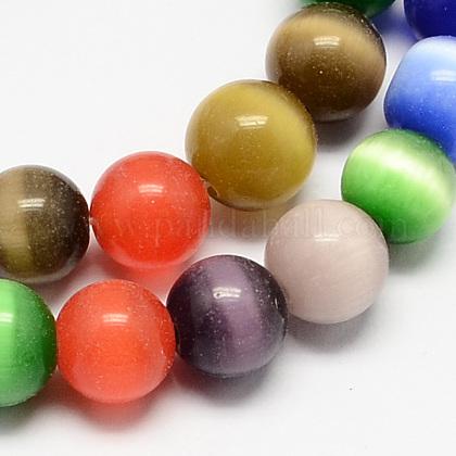 Cat Eye Beads StrandsCE-R002-12mm-M-1