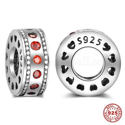 Tailandeses 925 perlas espaciadoras de plata esterlinaSTER-T001-S040-2-1
