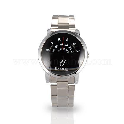 Men Casual Wristwatch High Quality Stainless Steel Quartz WatchesWACH-N004-10-1