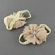 Elastic Baby Cloth Flower Foot BandsOHAR-R109-M-2