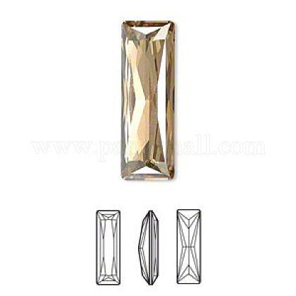Austrian Crystal Rhinestone CabochonsX-4547-15x5-001GSHA(F)-1