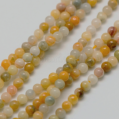 Natural Crazy Agate Bead StrandsX-G-A130-2mm-K10-1