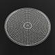Plaques en plastique abc ronds plats utilisés pour les perles à repasser 5x5mm diyX-DIY-Q009-52-2