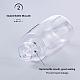 60ml Transparent PETG Plastic Spray Bottle SetsMRMJ-BC0001-76-4