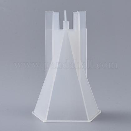 Diy пятиугольные свечи для ароматерапии пластиковые МолдыX-DIY-F048-07-1