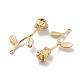 Long-Lasting Plated Brass PendantsX-KK-P060-03G-RS