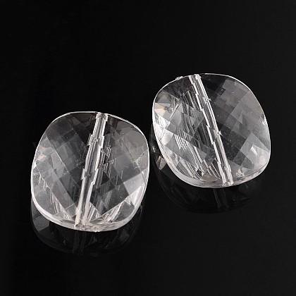 Прозрачные акриловые бусиныTACR-R074-901-1