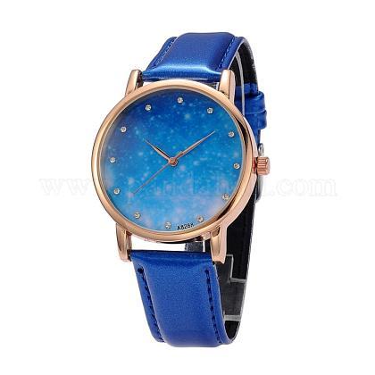 Women's Stainless Steel Quartz Starry Sky Wrist WatchesWACH-O004-03B-1