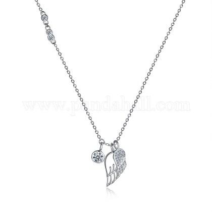 925 Collar de plata esterlinaNJEW-BB30333-1