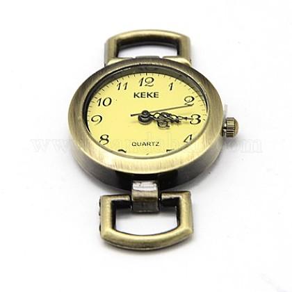 Componentes del reloj la cabeza la cara del reloj reloj de la aleaciónWACH-F001-04AB-1