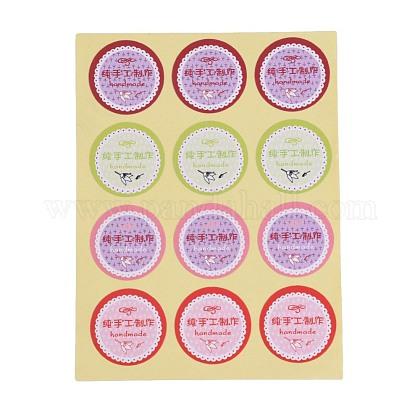Pegatinas de sellado diyDIY-O002-07-1