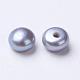 Perlas naturales abalorios de agua dulce cultivadasPEAR-I004H-01-2