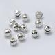 Sterling séparateurs perles ondulés argentSTER-K171-42S-01-2
