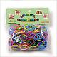 人気かぎ針付きクラフトキットカラーゴムブレスレットDIYX-DIY-R001-01-6