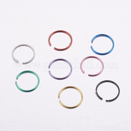 316l из нержавеющей стали носовые шпильки нос пирсинг ювелирные изделияAJEW-P063-01-1