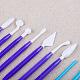 Plastic Clay Tool SetsAJEW-L072-25-3