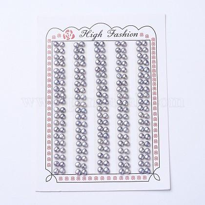 Perlas naturales abalorios de agua dulce cultivadasPEAR-I004H-01-1