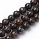 Natural Bronzite Beads Strands G-S272-01-10mm-1