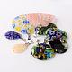 Mixed Shape Handmade Millefiori Glass PendantsLK-P028-16-2
