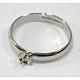 Montajes de anillo de latón ajustable y configuracionesX-E141-1