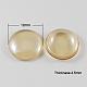 Cabochones de cristal electroplatedGGLA-R004-12mm-3-1