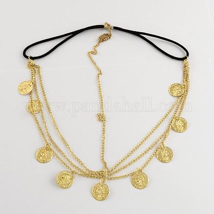 Women's Fashion Metal Head Chain HeadbandOHAR-R150-29-1