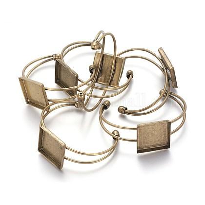 Brass Cuff Bangle MakingBJEW-S230076-AB-FF-1