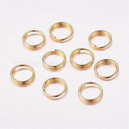 Brass Split RingsJRDC7MM-G-1