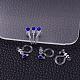 Plastic Clip-on Earring FindingsX-KY-P007-M02-1