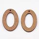 Pear Wood PendantsWOOD-T010-11E-2