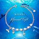 SHEGRACE® 925 Sterling Silver Multi-Strand BraceletsJB552A-3