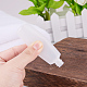 18ml Transparent PE Plastic Flip Top Cap BottlesMRMJ-BC0001-19-6