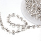 Cadenas de strass Diamante de imitación de bronceCHC-T002-SS6-01S-2